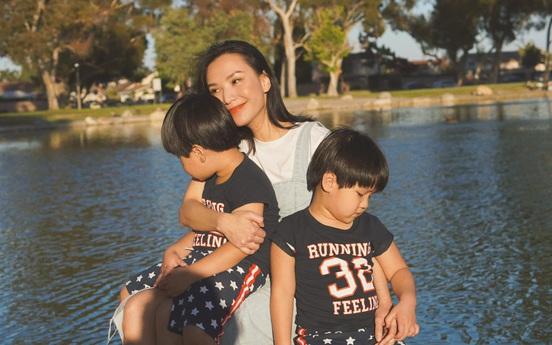 """Hot mom Quỳnh Trâm gây sốt với khẳng định: """"Con bám mẹ là con ngoan"""", đưa ra lời giải thích nghe xong nhiều mẹ thấy chí lí"""