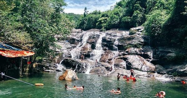 Thác Nhị Hồ - Điểm du lịch mới của Thừa Thiên Huế