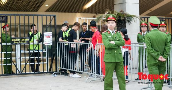 An ninh ''nhiều lớp'' được triển khai trước trận Việt Nam - UAE thuộc vòng loại thứ 2 Word Cup 2022