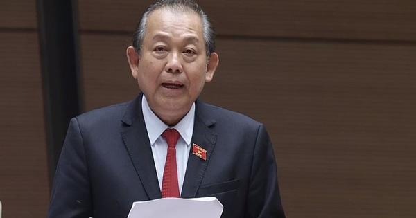 """Phó Thủ tướng Trương Hòa Bình: """"Sắp xếp, cải tiến bộ máy nhà nước, tinh giản biên chế chưa bao giờ là dễ dàng''"""
