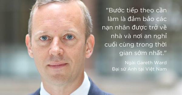 Thông điệp mới nhất của Đại sứ Anh tại Việt Nam về vụ 39 người chết