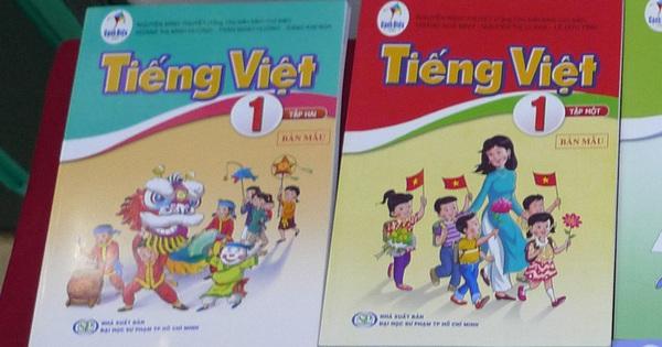 Sửa ''lỗi'' SGK Tiếng Việt lớp 1: Sẽ yêu cầu in bổ sung tài liệu chỉnh sửa, phát miễn phí