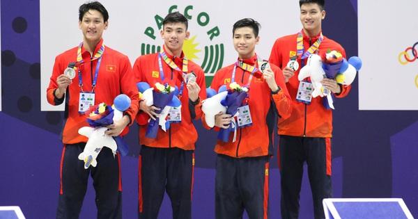 Kết thúc ngày thi đấu thứ 4 SEA Games 30: Nhuộm vàng đường đua xanh - bơi
