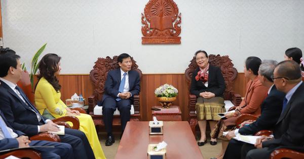 Hội đàm giữa Bộ trưởng Bộ VHTTDL Việt nam và Bộ trưởng Bộ Giáo dục và Thể thao Lào - xổ số ngày 13102019