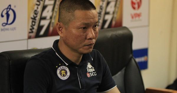 """HLV trưởng Hà Nội FC Chu Đình Nghiêm: """"Tôi đánh giá đối thủ đáng gờm nhất là SLNA"""""""