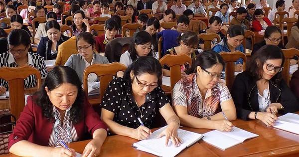 Hà Nộ: Sở Nội vụ thông báo thi tuyển, xét tuyển viên chức giáo dục