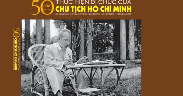 Xuất bản sách ảnh ''50 năm thực hiện Di chúc của Chủ tịch Hồ Chí Minh''