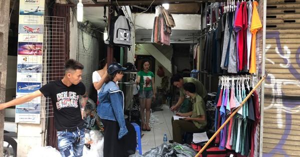 Hà Nội: Thu giữ 5.000 sản phẩm quần áo, ba lô giả hàng hiệu