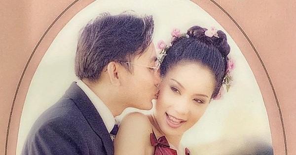 Á hậu Trịnh Kim Chi lần đầu chia sẻ ảnh cưới cách đây 19 năm với chồng đại gia