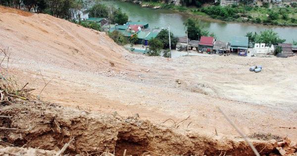 Khẩn cấp xử lý sự cố sạt lở đất tại huyện Kỳ Sơn tỉnh Nghệ An