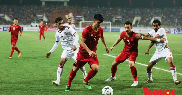 Lịch sử đối đầu bóng đá Việt Nam - UAE: Từng ở chiếu dưới