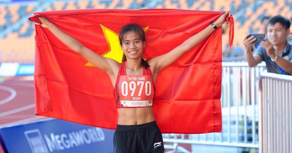 VĐV Điền kinh Phạm Thị Thu Trang: Nghị lực của nhà vô địch trong thân hình nhỏ bé