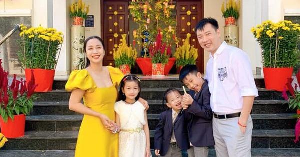 Sao Việt quây quần bên người thân ngày mùng một Tết