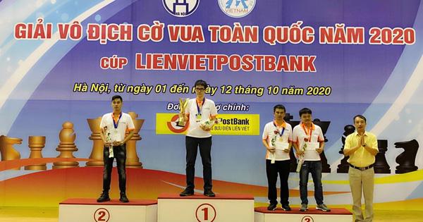 Giải cờ vua Vô địch Quốc gia 2020: Xuất hiện 2 tân vương