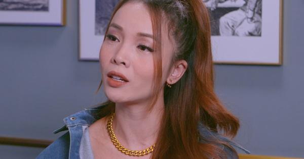 Yến Trang cười trừ khi được hỏi về Thu Thủy, tiết lộ đó là mối duyên không thể hợp