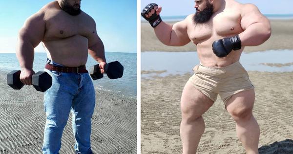 ''Người khổng lồ xanh của Iran'' gây sốt khi đăng hình khoe trọn body cực khủng, khiến cả làng võ phải dè chừng bằng tuyên bố mới nhất