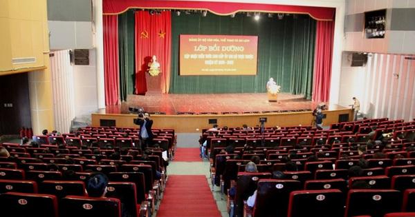"""Đảng ủy Bộ VHTTDL tổ chức Lớp """"Bồi dưỡng, cập nhật kiến thức dành cho cấp Ủy các chi bộ trực thuộc nhiệm kỳ 2020-2022''"""