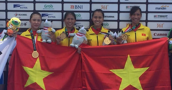 Chuyện chưa kể về Đua thuyền Việt Nam: Tấm HCV đại diện cho cả khu vực