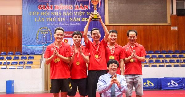 Bế mạc Giải Bóng bàn Cup Hội Nhà báo Việt Nam lần thứ 14 - năm 2020