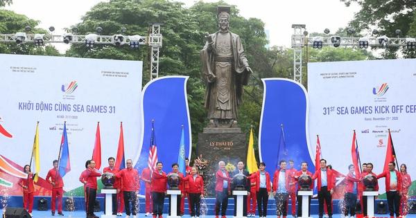 Khởi động cùng SEA Games 31 - Việt Nam sẵn sàng cho Đại hội thể thao lớn nhất Đông Nam Á