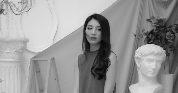 Người đẹp Lê Thanh Tú cuốn hút trong bộ ảnh đen trắng
