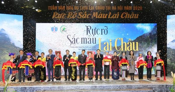 Khai mạc Tuần văn hóa, du lịch Lai Châu tại Hà Nội năm 2020 - giáeurohômnay