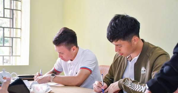 Nguyễn Quang Hải, Trần Đình Trọng hoàn thiện thủ tục nhập học chính thức tại Trường Đại học TDTT Bắc Ninh