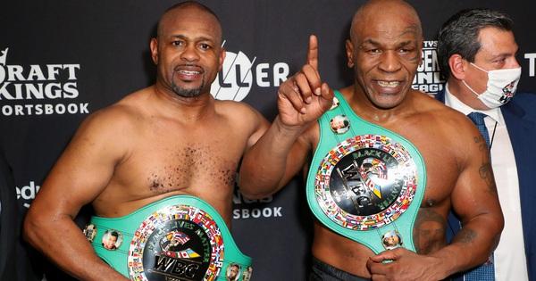 Mike Tyson vs Roy Jones Jr có doanh thu xem qua truyền hình cao hơn Tyson Fury vs Deontay Wilder - vietllot 655