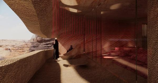 Chiêm ngưỡng khu nghỉ dưỡng lớn nhất trong lòng đất sa mạc ở Saudi Arabia
