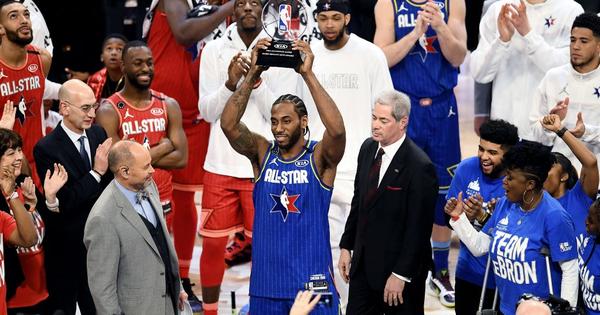 Kawhi Leonard đoạt danh hiệu MVP, dẫn dắt Team LeBron giành chiến thắng kịch tính trước Team Giannis