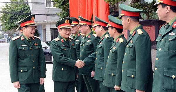 Đại tướng Ngô Xuân Lịch thăm và làm việc tại Cục Quân y