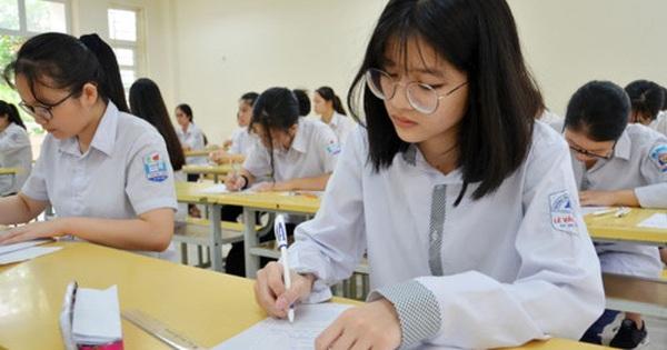 Quyết định chính thức tuyển sinh lớp 10 năm học 2020 - 2021: Nghỉ học do Covid-19, Hà Nội vẫn tổ chức thi theo dự kiến