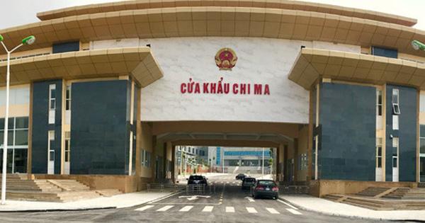 Thông quan cửa khẩu Chi Ma, hàng trăm tấn nông sản sang Trung Quốc mỗi ngày