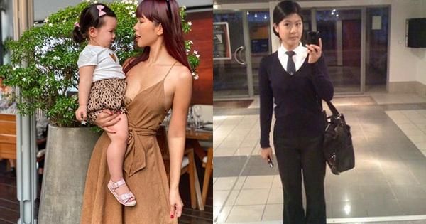 Cuối tuần của các hot mom: Siêu mẫu Hà Anh than thở đời