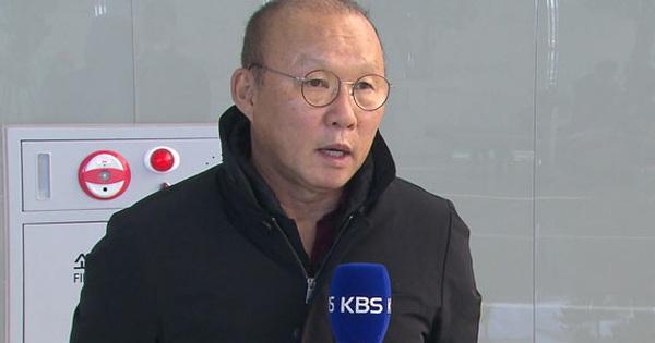 """HLV Park Hang-seo: """"Tôi tin chính phủ Hàn Quốc sẽ xử lý tốt và khắc phục được dịch bệnh"""""""
