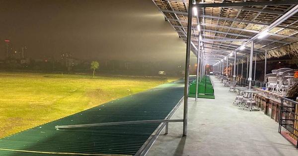 """Sân golf """"khủng"""" sai phép mọc giữa lòng Hà Nội, chủ đầu tư tháo gỡ chưa dứt điểm"""