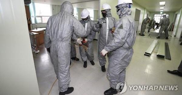 Số lượng ca nhiễm bệnh tại Hàn Quốc liên tục tăng cao đáng ngại