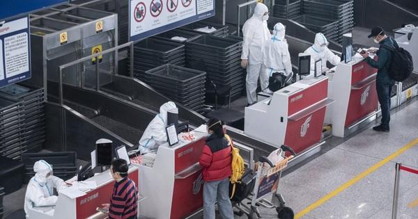 Trái ngược với tình trạng toàn cầu mùa Covid-19, vé máy bay đến Trung Quốc liên tục tăng giá mạnh