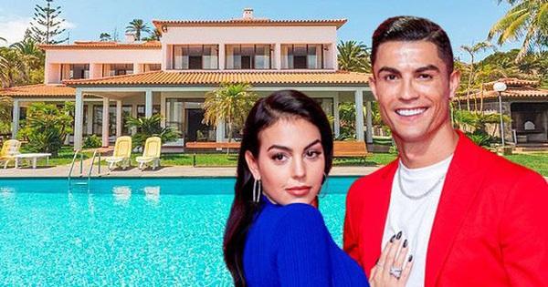 Khám phá căn biệt thự mới, tách biệt hơn với thế giới bên ngoài để tránh dịch của gia đình Ronaldo