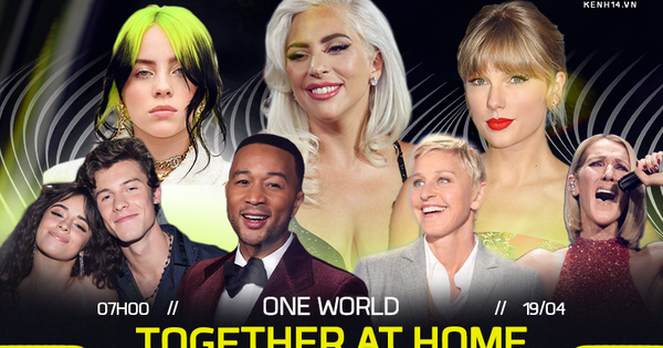 Taylor Swift, Billie Eilish, Shawn Mendes,... và gần 100 ngôi sao sẽ xuất hiện trong buổi livestream lớn nhất trong lịch sử do Lady Gaga kết hợp WHO tổ chức