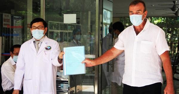 Bệnh nhân Covid-19 thứ 57 người Anh đã khỏi bệnh và xuất viện