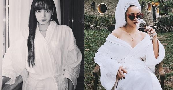 Chỉ đơn giản là diện áo choàng tắm, mỹ nhân Việt - Hàn đã có được những khoảnh khắc sống ảo cực ''nghệ''