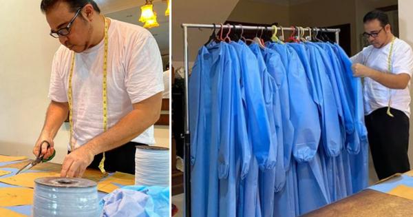 Các nhà thiết kế thời trang tặng hơn 80.000 áo bảo hộ PPE cho các y bác sĩ chống virus Corona