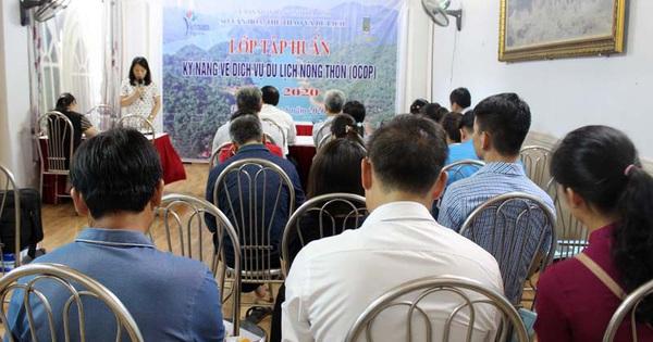 Hòa Bình: Tập huấn kỹ năng về dịch vụ du lịch nông thôn (OCOP) năm 2020