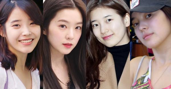 Netizen bình chọn 10 mỹ nhân Hàn mặt mộc đẹp nhất: Song Hye Kyo và dàn diễn viên chịu thua 2 nữ idol, No.1 gây sốc vì % thắng quá khủng