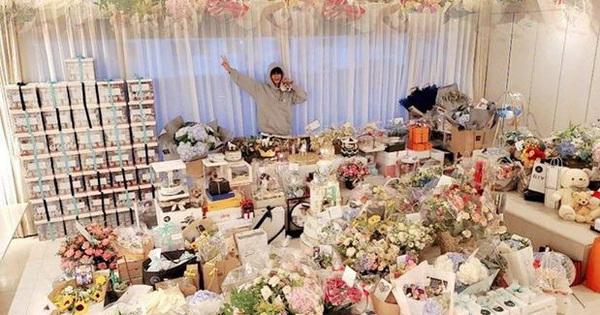 Lee Min Ho ngập trong biển quà của fan nhân dịp sinh nhật tuổi 34