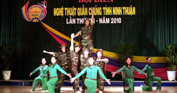 Ninh Thuận triển khai kế hoạch tổ chức Hội diễn ''Nghệ thuật quần chúng'' năm 2020