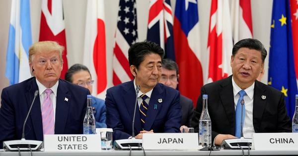 Leo thang Mỹ - Trung là thời điểm nguy hiểm cho Nhật Bản