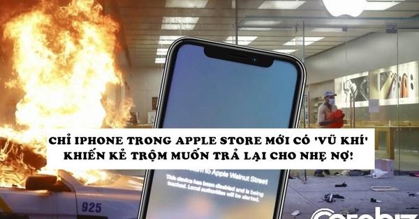 Apple vừa ''nhắc khéo'' khiến những kẻ trộm iPhone nhân bạo loạn muốn ngay lập tức mang trả lại