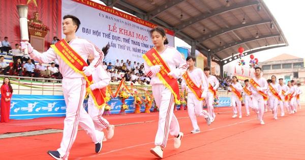 Tổng kết 10 năm thực hiện ''Chiến lược phát triển thể dục, thể thao Việt Nam đến năm 2020'' trên địa bàn tỉnh Hòa Bình
